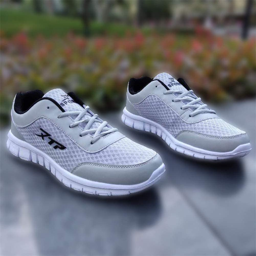 Mens Casual Walking Shoes Lightweight Lace Up Athletic Fitness Jogging Tennis Sport Cycling Running Sneakers