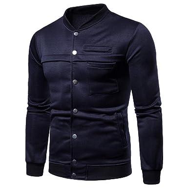 a46d7c361b513 Sweat Homme Vtops Sweatshirt à Capuche à Manches Longues à Manches Longues  pour HommesSweat-Shirt