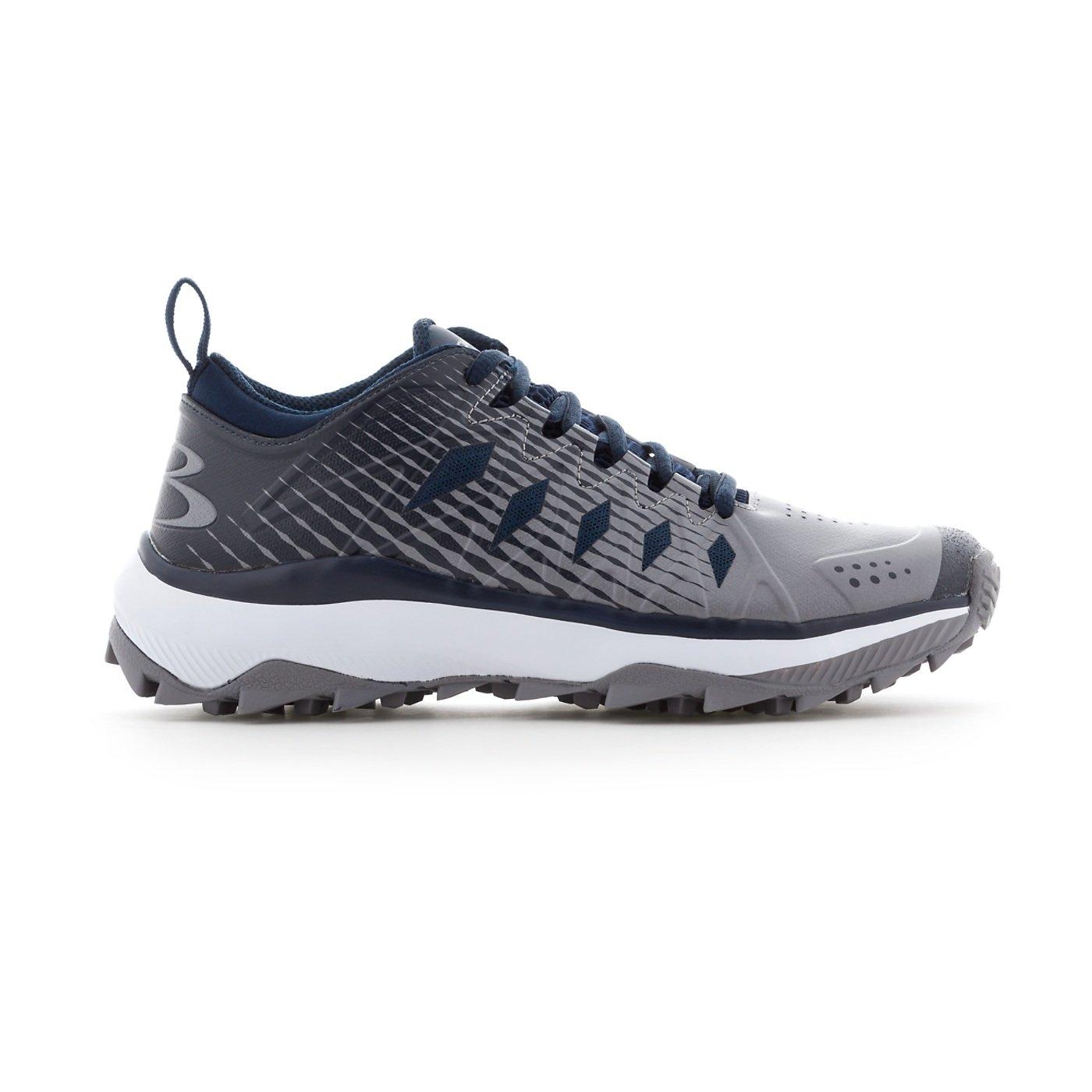 Boombah Women's Squadron Turf Shoes - 14 Color Options - Multiple Sizes B079K29KZN 9.5|Navy/Gray
