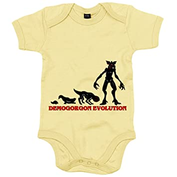 Body bebé Stranger Things Demogorgon Evolution - Amarillo, 6 ...