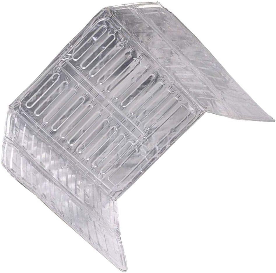 LEVEL GREAT Herramienta de la Cocina del Protector de Aislamiento 3 Lados Aceite Protector contra Salpicaduras del Papel de Aluminio Estufa Escudo Aceite Salpicadura de la Pantalla