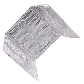 Compra Elenxs 3 Lados Aceite Protector contra Salpicaduras del Papel de Aluminio Estufa Escudo Aceite Salpicadura de la Pantalla de la Herramienta de la ...