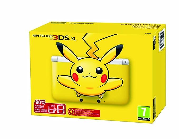 Nintendo 3DS - Consola XL - Color Versión Pikachu: Amazon.es ...