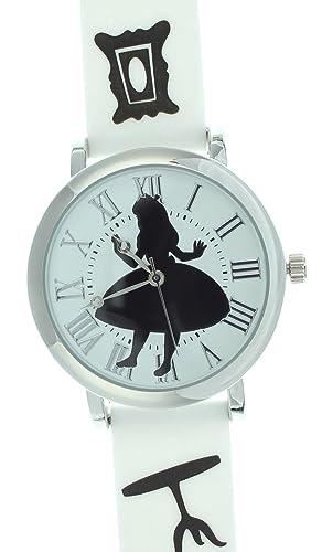 Disney Alicia en el país de las maravillas de Alicia de la pulsera: Amazon.es: Relojes