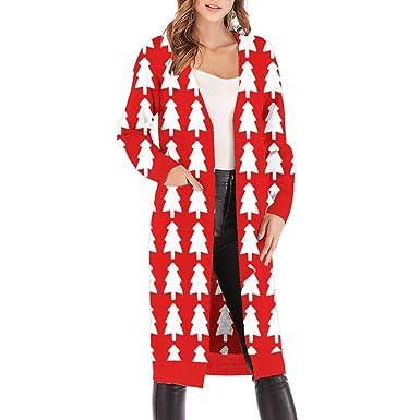 Gilet Hanmax Pull Cardigan Longues D'hiver De Femme Veste Automne Manches Longue Tricoté Laine Manteau v08wOyNnmP