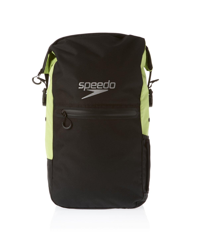 Speedo Team RSCK III Max AU Borsa Nuoto, Black/Hydro Green 8-090647045 68-09064_7045-UNI