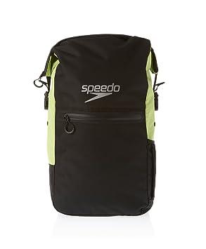 e713920cc0d47 Speedo Team Rucksack III Max - Black Hydro Green