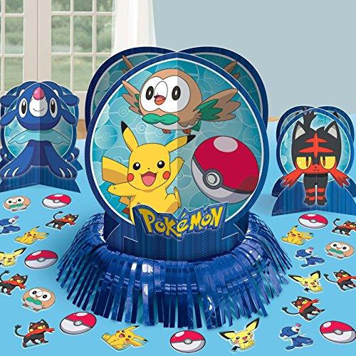 Amscan Pokemon Table Decorating Kit, Party -
