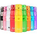 hook Botella de Agua Deportiva - 420ml & 750ml -Tritan BPA Free & Eco Friendly