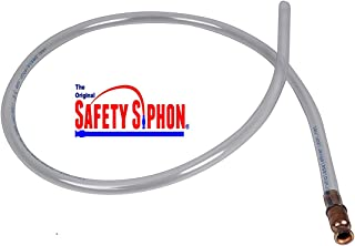 "product image for Shaker Siphon Hose - Gas Siphon - The Original Safety Siphon - 4 Foot Hose (4 Foot - 3/8"" Valve)"