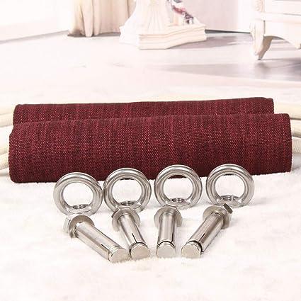 Amazon.com: DLT Iyengar Yoga Wall Ropes Kit for Beginner ...