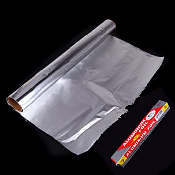 10m Tin Foil Baking Paper Aluminum Foil Barbecue Cake Baking Paper 250 Degrees