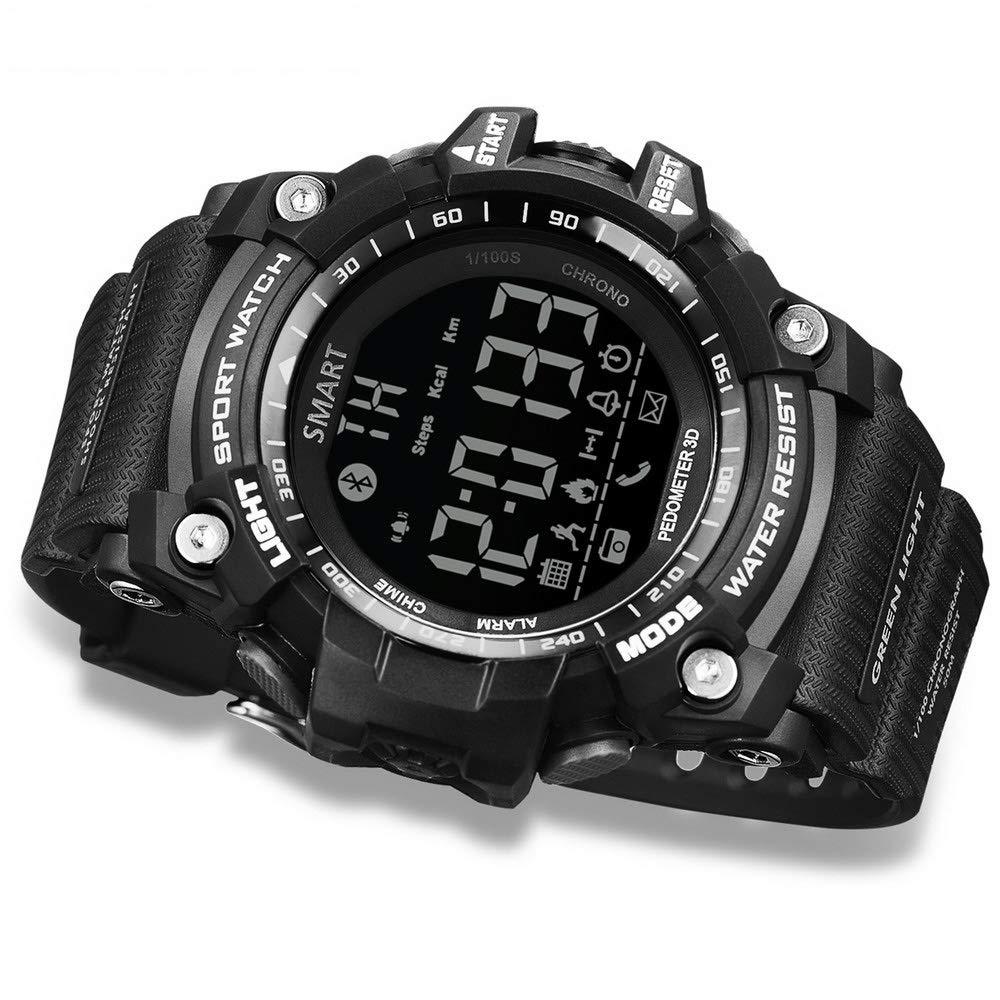 Amazon.com: New Bluetooth Smart Watch Waterproof Sports ...