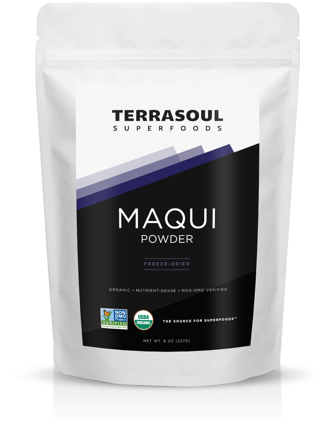 Terrasoul Superfoods Organic Maqui Berry Powder, 8 Ounces