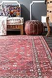 nuLOOM Daenerys Persian Area Rug, 5' x 8', Red