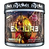 ENDUR3 Intra Workout BCAA Supplement | 4:1:1 Ratio of Trademarked Amino Acid Blend at Clinical Dosage | Best Drink for Endurance & Recovery | 30 Servings (Unicorns Blood)