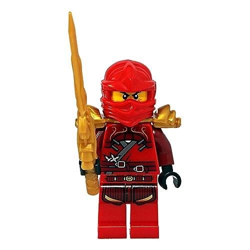 Lego Custom Mini figurine Kai Ninja ZX en Original Ninjago composants avec épée