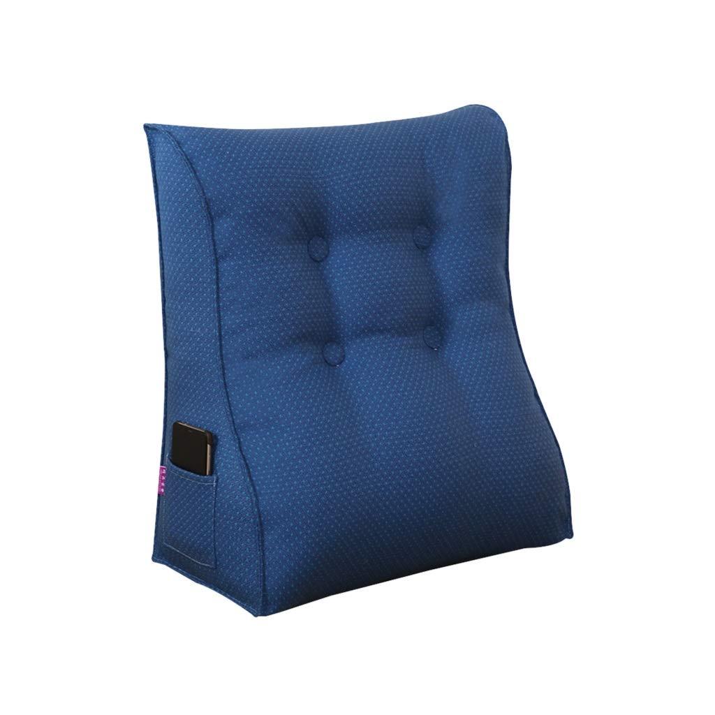 DUHUI Bed Wedge, Wedge für Wohnzimmer und Schlafzimmer, Sleeping Wedge, um die Wirbelsäule zu entlasten Pill Stillkissen fürs Liegen und Sitzen (Farbe : J, größe : 55x60x25cm)