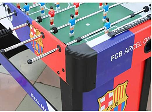 WXXW Futbolín De Mesa Juego Mesa De Fútbol Madera 120x62x80cm para ...