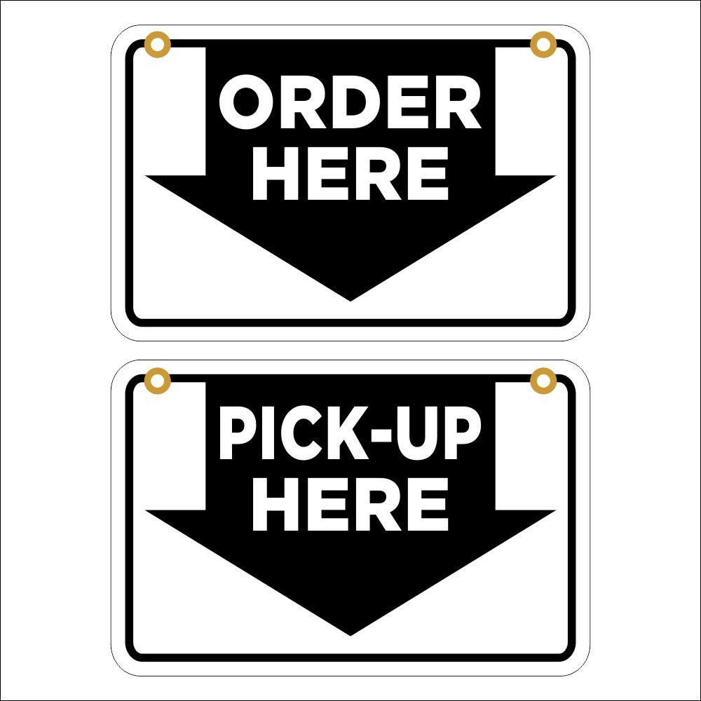 4 KEYS MADE HERE Coroplast SIGNS with grommets 8 X 12 Retail & Services