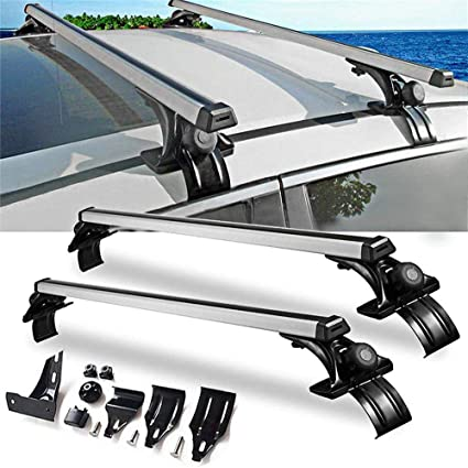 Amazon Com Lxt Panda Roof Rack Cross Bars Universal Window Frame Style Aluminum Roof Rack Rail Cross Bars Aluminum Car Roof Top Cross Bar Universal Luggage Carrier Rack Sports Outdoors