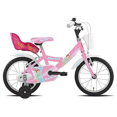 """'Legnano vélo 691Fée 14""""1V Rose (enfant)/Bicycle 691Fée 141S Pink (Kid)"""