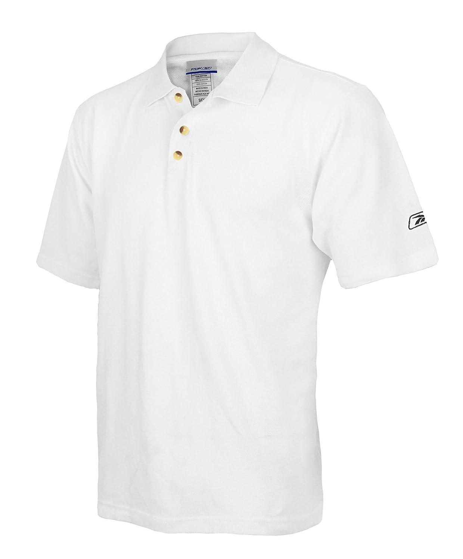 Para hombre Reebok diseño polo, Blanco: Amazon.es: Deportes y aire ...