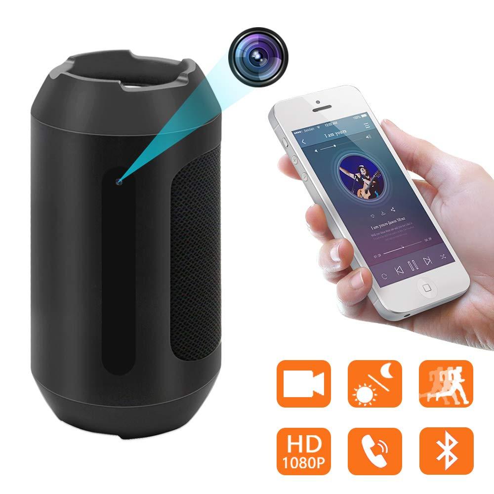 cámara Oculta del Altavoz del Bluetooth, cámara Nana inalámbrica de la Mini cámara de la