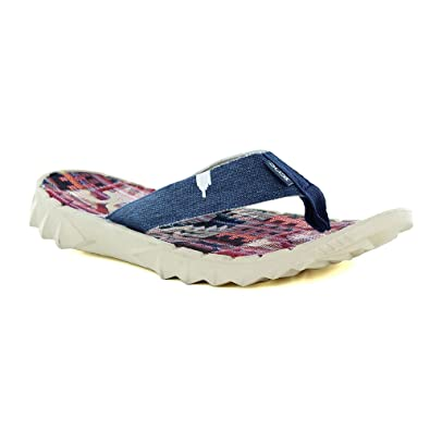 1f3af3229b1b Hey Dude Sava Mens Canvas Toe Post Sandals - Incas Red  Amazon.co.uk  Shoes    Bags