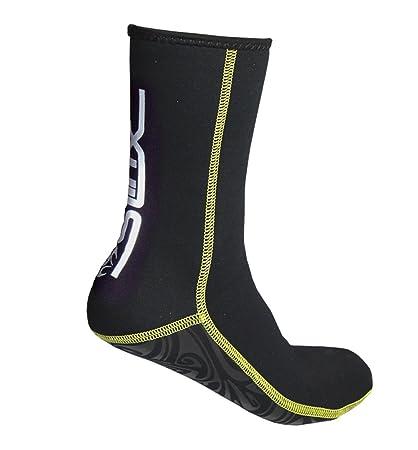 4fa55a3e73 Neoprene Socks Wetsuit Booties Scuba Diving Socks 3MM for Men Women Kids  Youth Waders