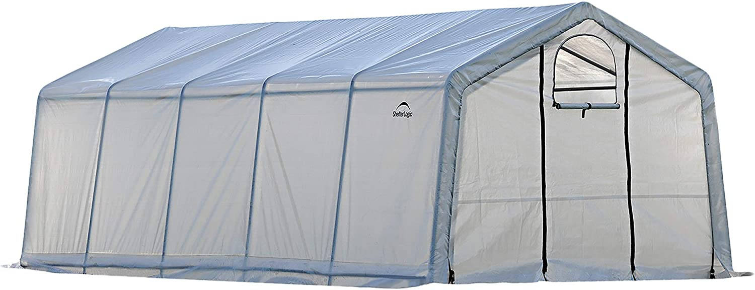 ShelterLogic GrowIT Greenhouse-in-a-Box Pro, 12 x 20 x 8 ft.
