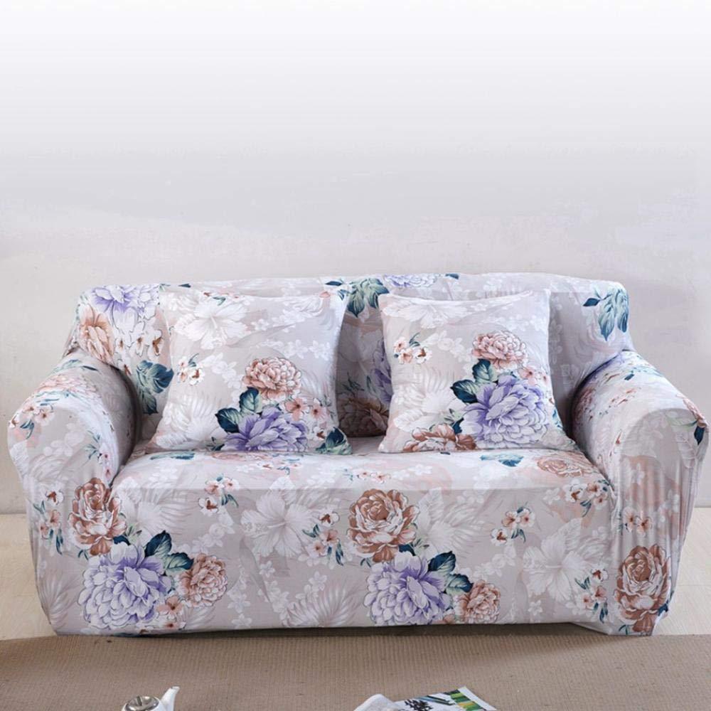Couch Sofabezüge Für Wohnzimmer Spandex Ecksofa Hussen Universal Stretch Möbelbezüge Plüsch Dekoration-NaNianDeHuiYI_Dreisitzer-Sofa