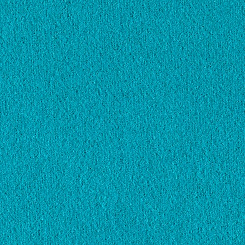 Riley Blake Melton Wool Blend Turquoise Fabric By The (Wholesale Wool Fabric)