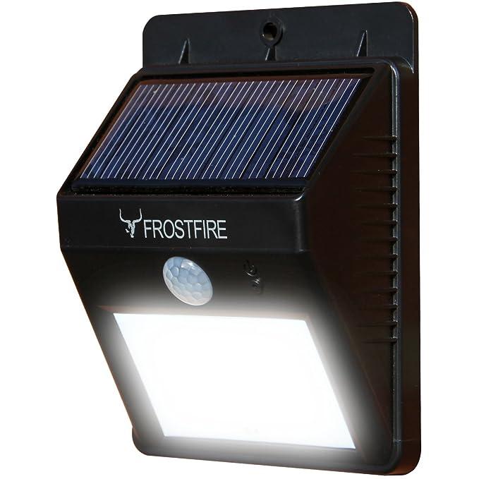 150 opinioni per Frostfire–Luce LED Solare senza fili con sensore di movimento