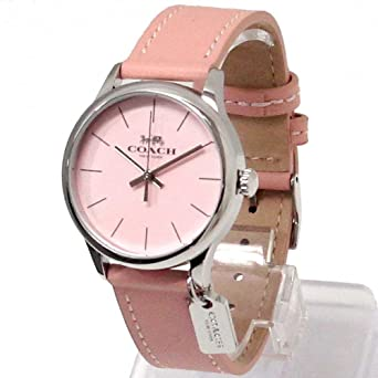 2f642a175cd1 コーチ 時計 レディース COACH レザー ストラップ 腕時計 14502935 [並行輸入品]