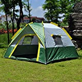 3-4 Person Instant Automatic Pop Up Tent, Large Portable Beach Tent Mosquito Net