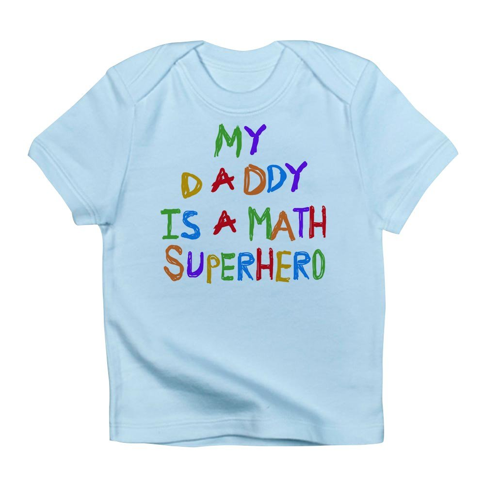 Amazon.com: CafePress - Daddy Is A Math Superhero - Cute Infant T ...