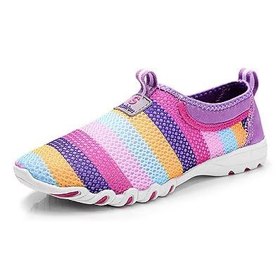 Damen Wanderschuhe Frauen Leichte Wanderschuhe Mesh Wanderschuhe Atmungsaktives Mesh Outdoor Schuhe Turnschuhe,Pink-40