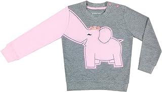 DRAGON VINES Toddler Elephant Shirts, Elephant Nose Long Sleeve T Shirt Pajamas Sweatshirts, Kids Birthday Gift