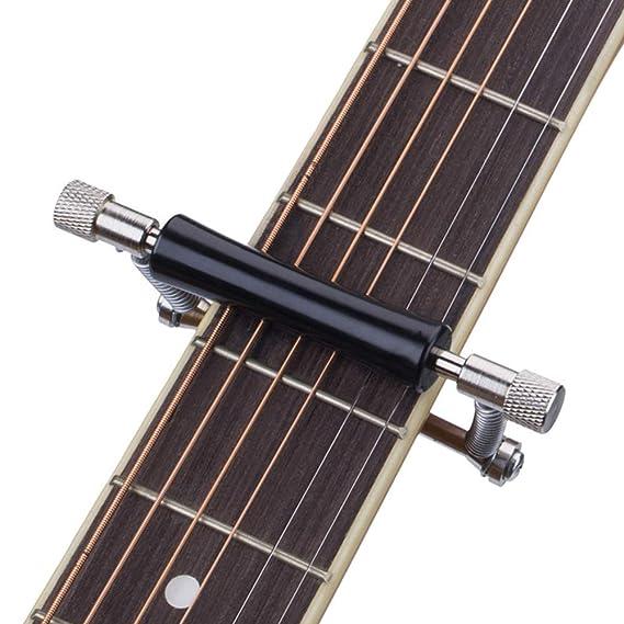 Cejilla Guitarra Capo BG&MF 6 Cuerdas, Hierro, Pinza de una Mano ...