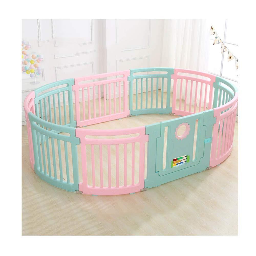 XIAOMEI,安全フェンス 子供の屋内プレイフェンス環境保護PE素材ベビーセーフティー幼児クロールフェンス-2仕様書-10/12 ベッドの手すり (色 : A, サイズ さいず : 160*236cm) 160*236cm A B07KZSTX5C