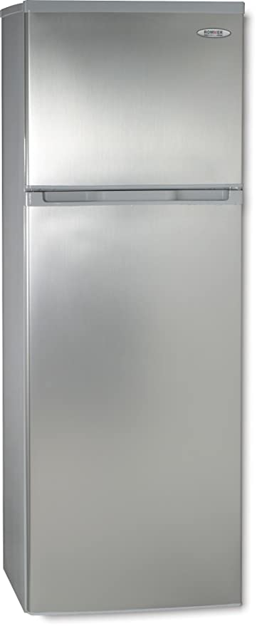 ROMMER F 292 A+ INOX Independiente 242L A+ Acero inoxidable nevera ...