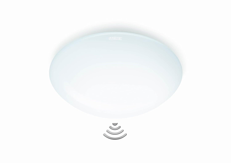 Steinel RS 100- L - Luz con sensor para paredes y techos de interior, color blanco: Amazon.es: Hogar