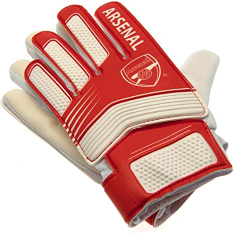 Arsenal F.C Goalkeeper Gloves in Kids and Youth sizes Official Product