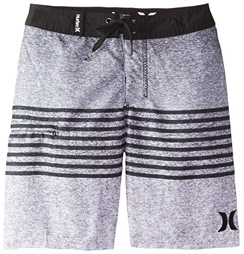 Hurley Big Boys' Blaze Boardshort-Black, Black, 20