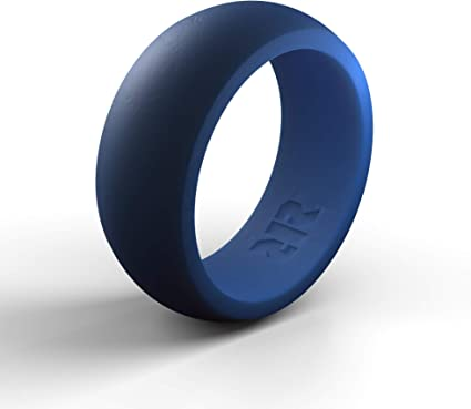 BEEBEAR Silicone Wedding Ring for Men 2 Packs /& Singles Silicone Rubber Wedding Bands