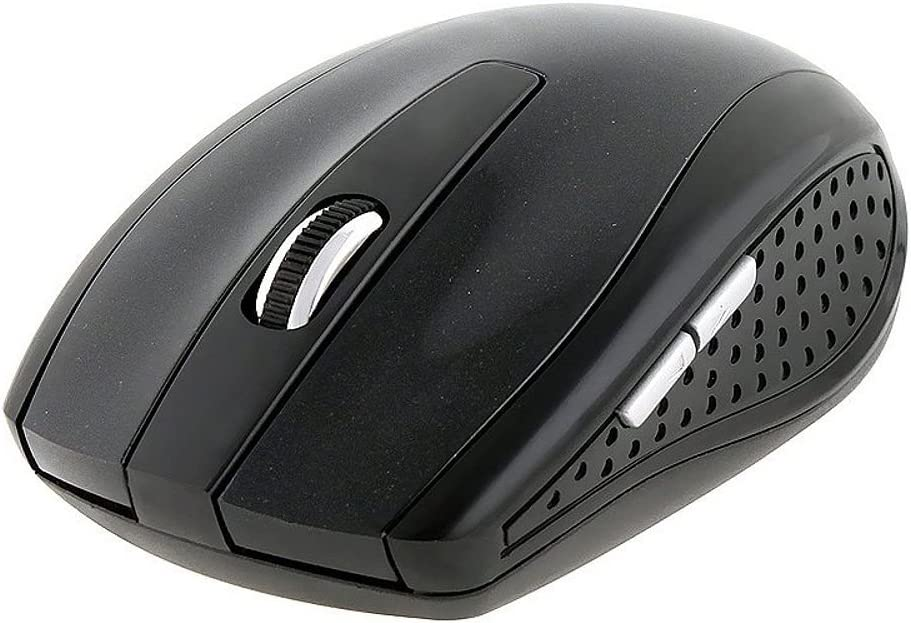 Insten Black 2.4G Wireless USB Whell Optical Mouse for PC Laptop