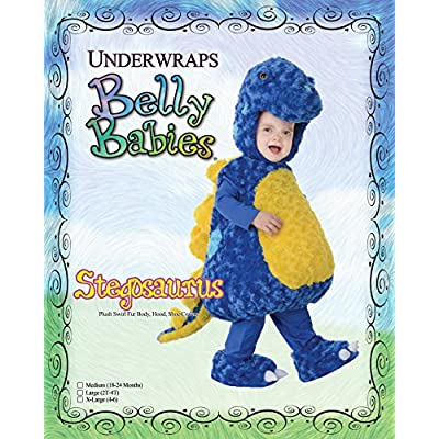 Underwraps Stegosaurus Belly-Babies: Clothing