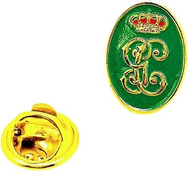 Gemelolandia Pin de Traje del Escudo de la Guardia Civil Verde y Dorado 18mm: Amazon.es: Ropa y accesorios