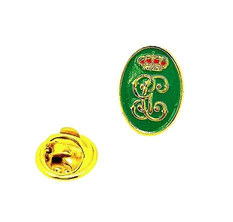 Pin de Traje del Escudo de la Guardia Civil Verde y Dorado ...